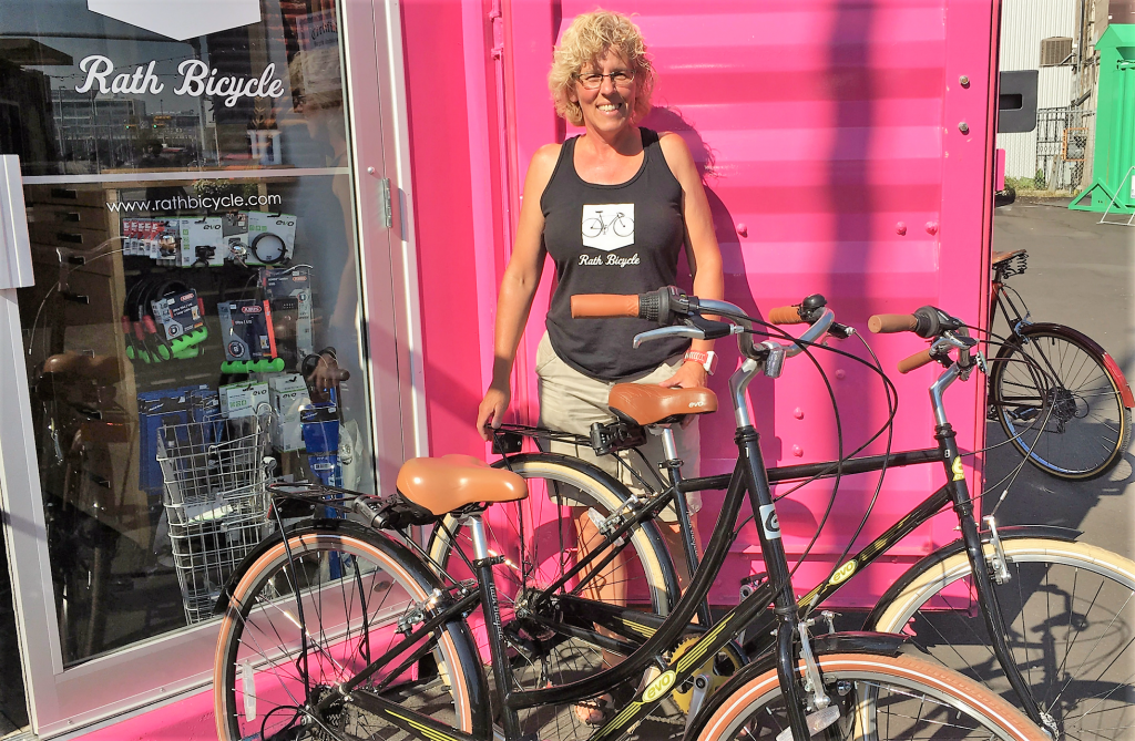 Lori Rath of Rath Bicycle in East Village