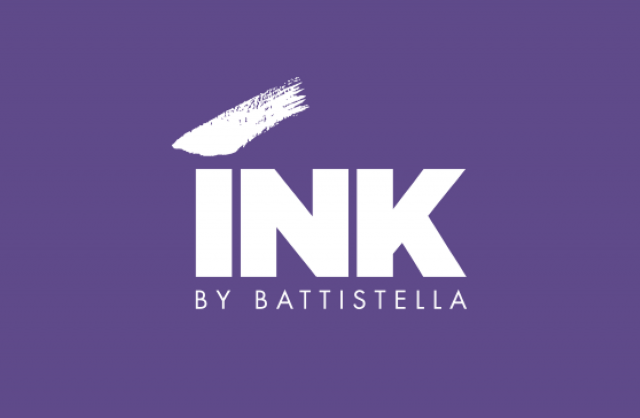 INK by Battistella Logo - Ultra Violet Pantone