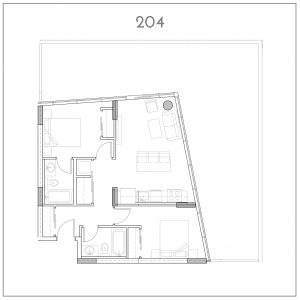 204 INK by Battistella Floorplan