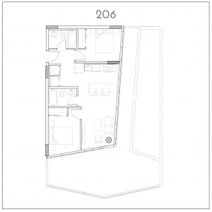 206 INK by Battistella Floorplan