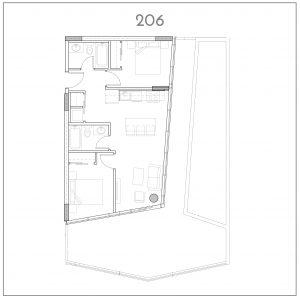 206 INK by Battistella Floorplan